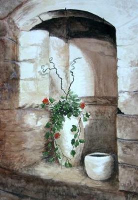 Натюрморт на руинах