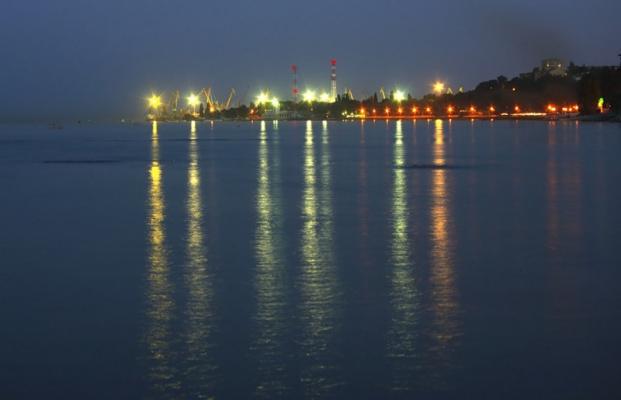 Мой город со стороны моря.