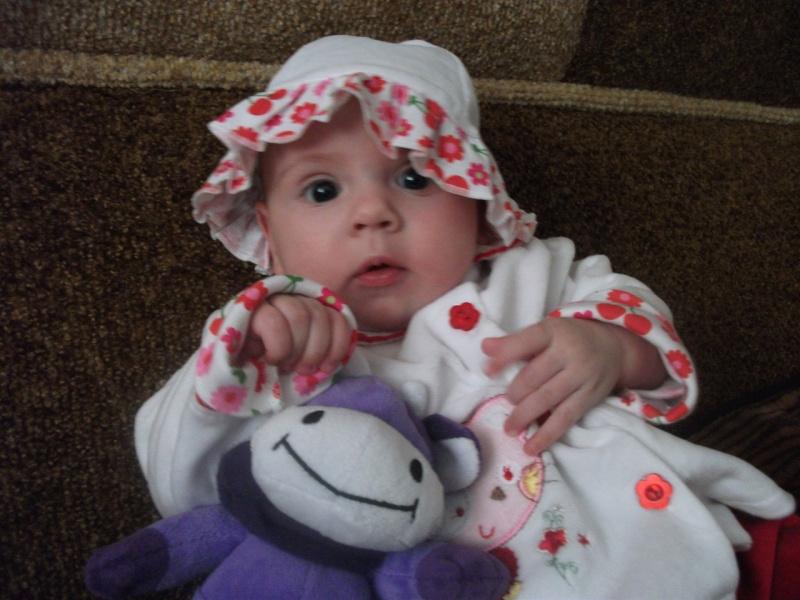 Сащенька, 4 месяца (моя внучка)