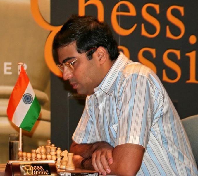 15-й чемпион мира по шахматам Ананд Вишваната́н