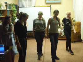 Мастер-класс по танцу